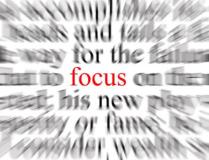 Focus on what you know instead of worrying