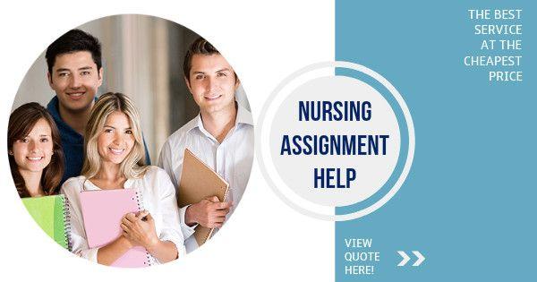 Assignment of the Week – Nursing Assignment