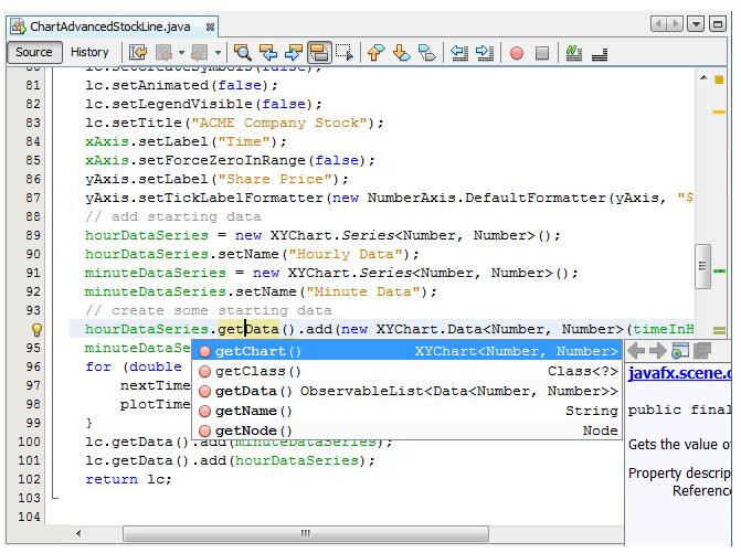 NetBeans Editor - Java Assignment Help