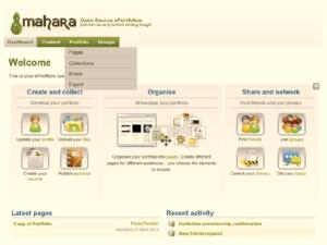 Mahara e-portfolio