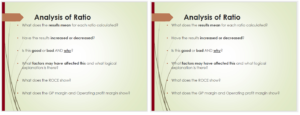 What is a ratio analysis