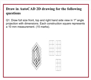 CAD Assignment question