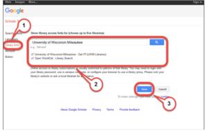 Google scholar benefits