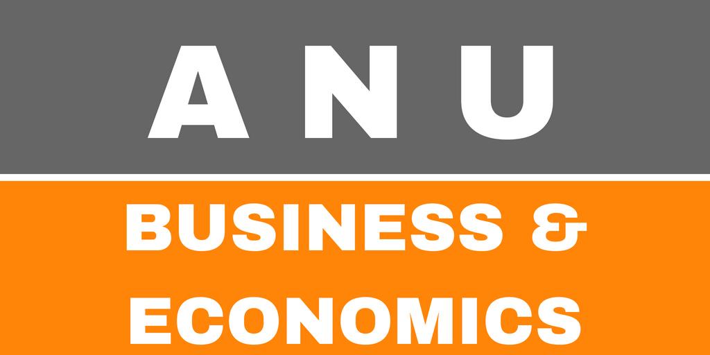 ANU College of Business & Economics - Australian National University Series