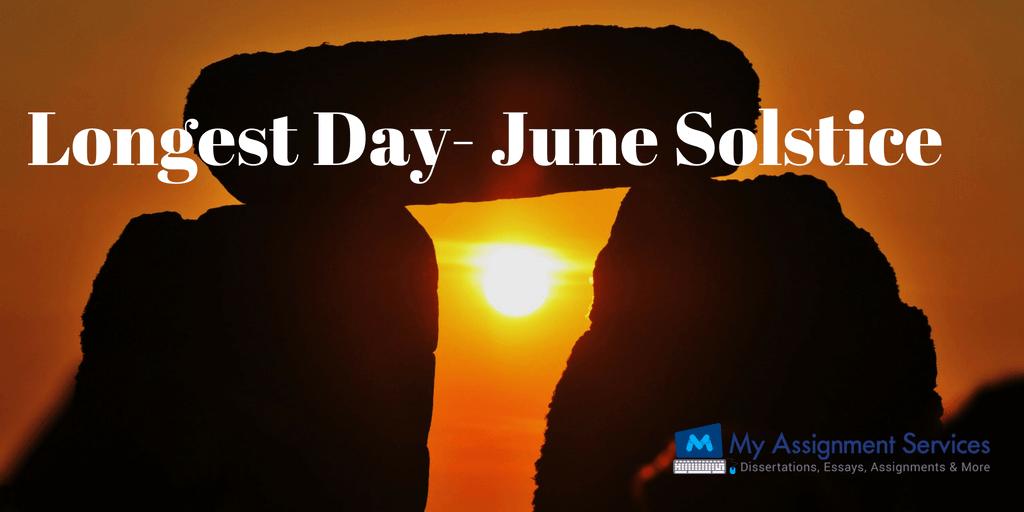Longest Day is Here - Welcome June Solstice!