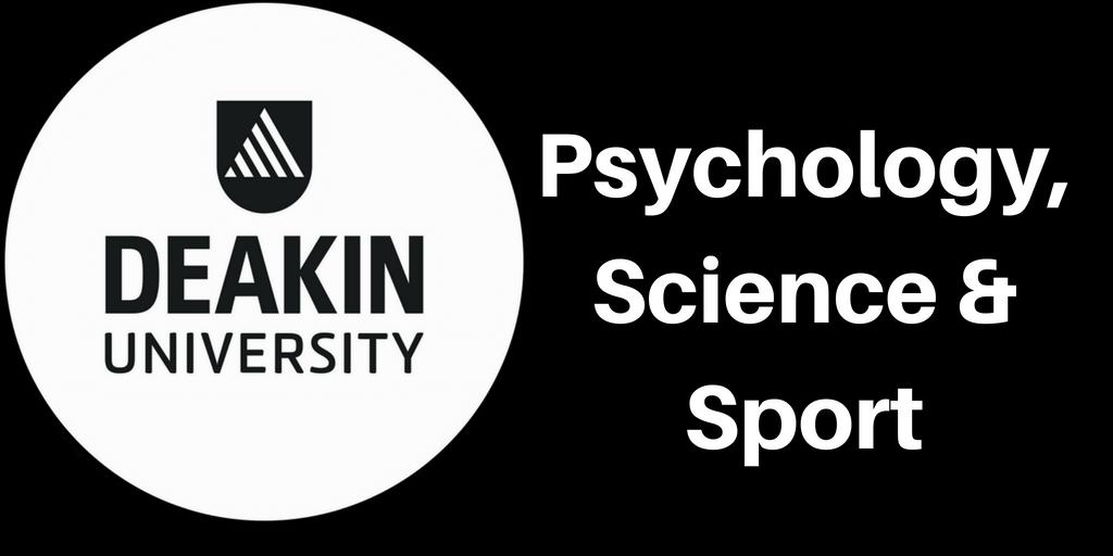 Psychology, Science & Sports Courses at Deakin Business School – Deakin University Blog Series