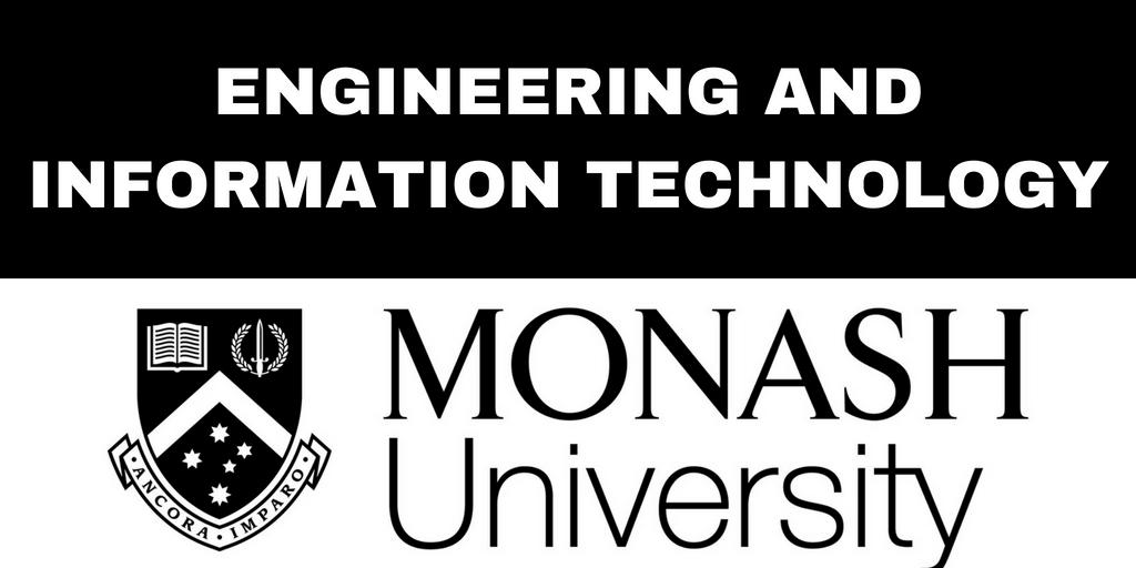 Monash School of Engineering & Information Technology – Monash University Blog Series