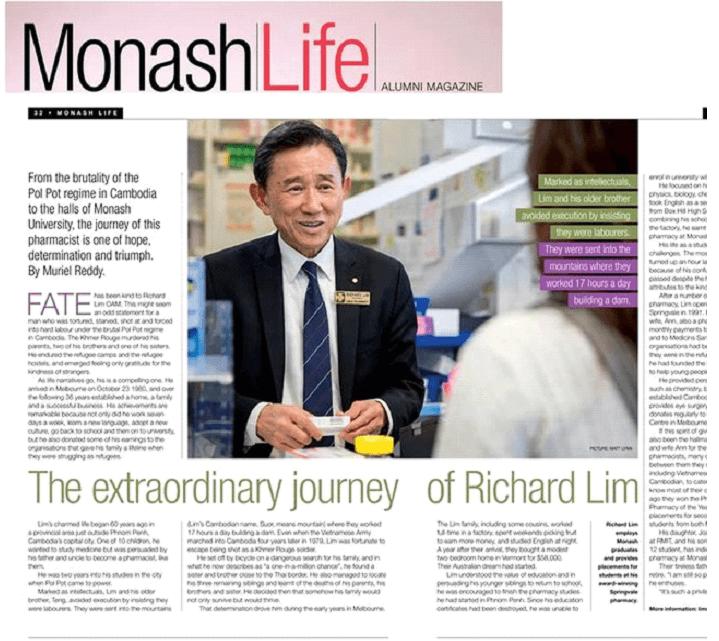 monash life magazine