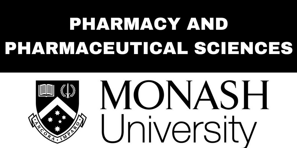 College of Pharmacy & Pharmaceutical Sciences - Monash University Blog Series
