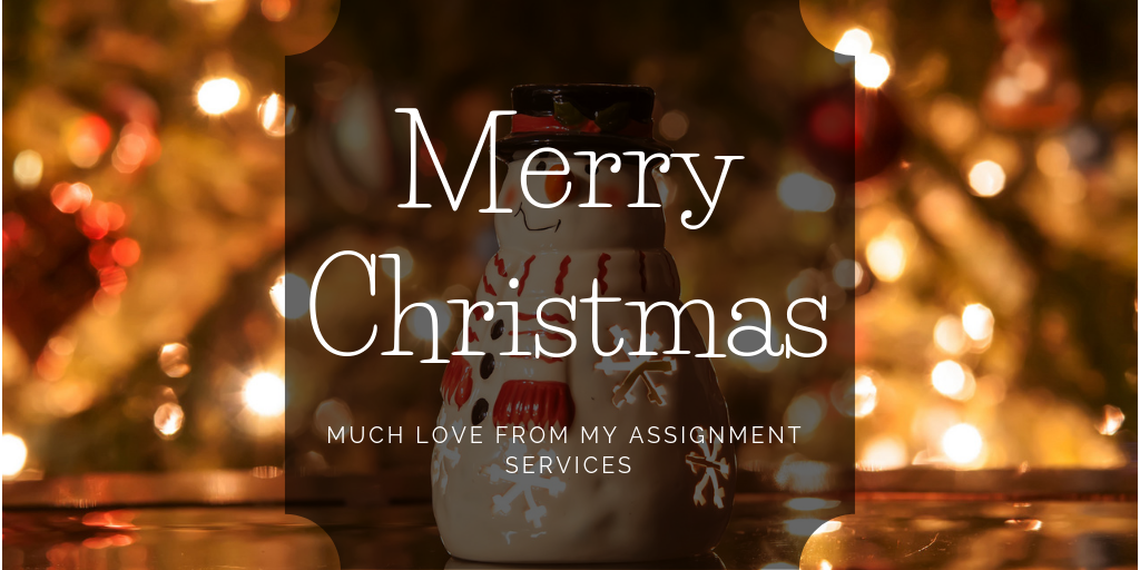 My Assignment Services Wishes You Merry Christmas!