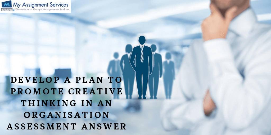 Develop a Plan To Promote Creative Thinking In An Organisation Assessment Answer