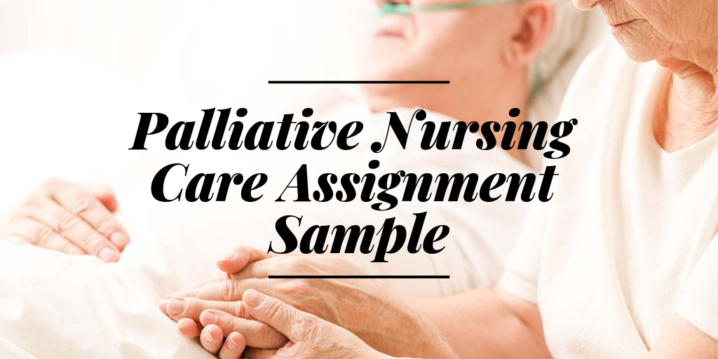 Understand The Basics With a Palliative Nursing Care Assignment Sample