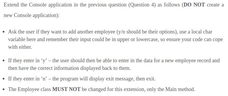 Question - 5