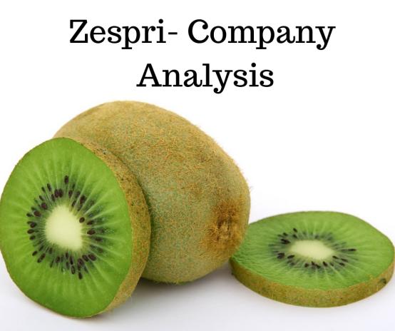 History Of Zespri