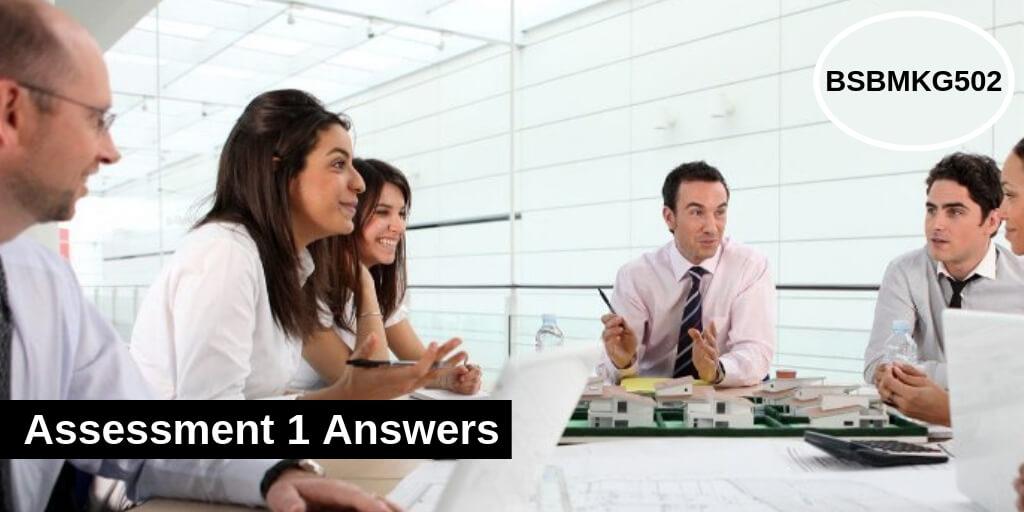 BSBMKG502 Assessment 1 Answers