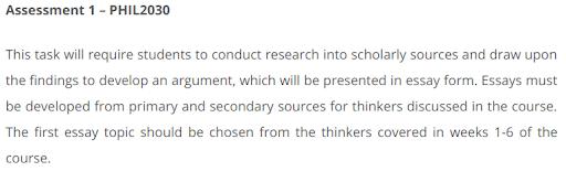 Assessment 1-PHIL2030