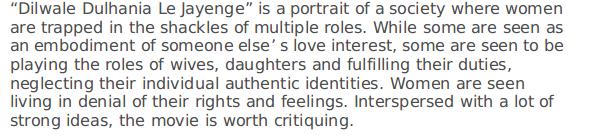 portrayal of women