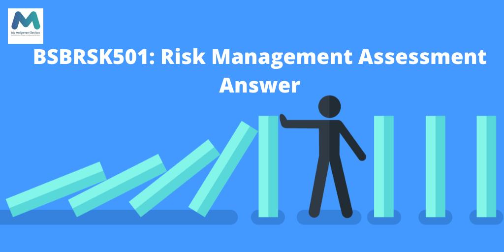 BSBRSK501: Risk Management Assessment Answer