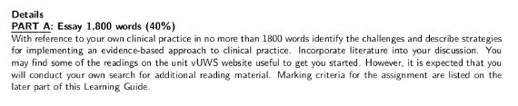 Evidence-Based Nursing Essay