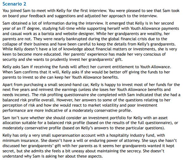Financial Advice Scenario 2