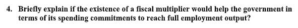 fiscal multiplier