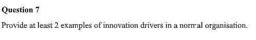 innovation drivers