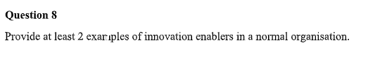 innovation enablers