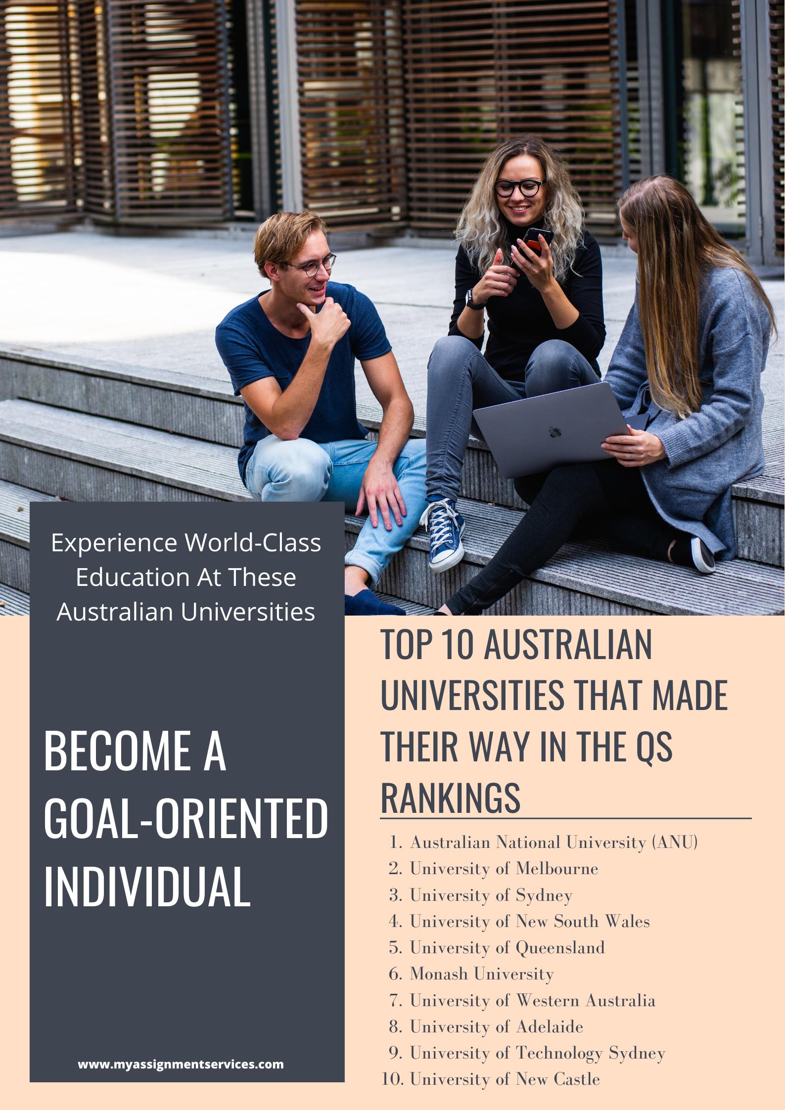 10 top australian universities