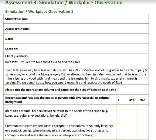 CHCCCS015 Assessment 3