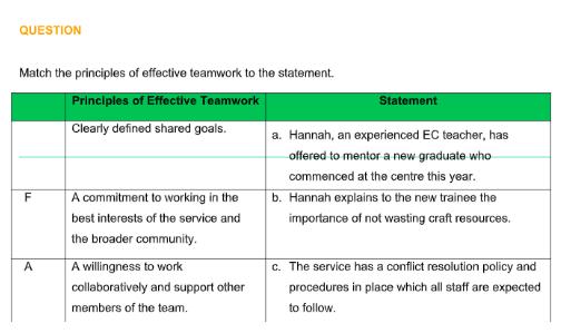 Principles of effective teamwork