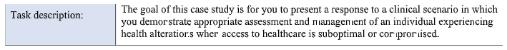 NUR241 - reference case study