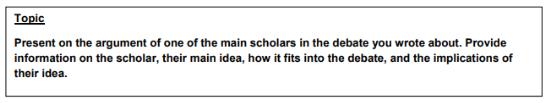 Academic Communication topic 1