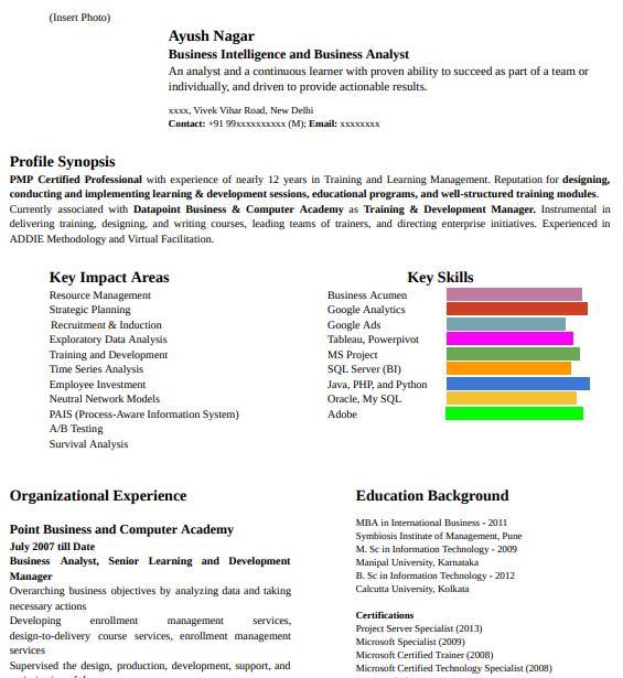 CV Writing Services In Australia