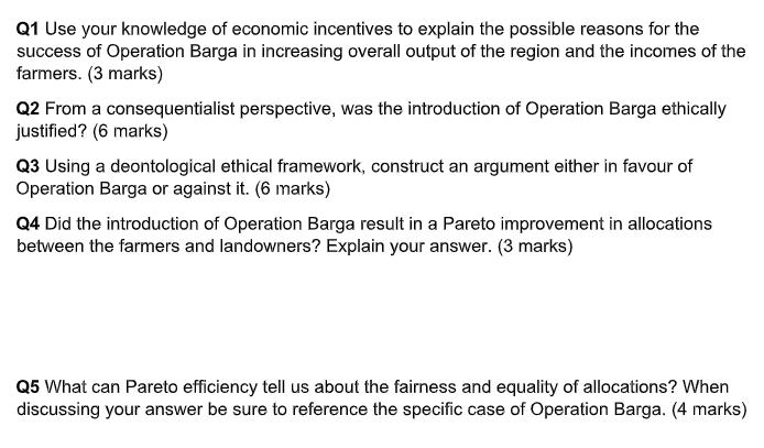 economics questions sample