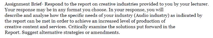 Industrial Economics Assignment Sample