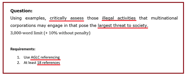 International Law Assignment Question