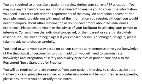 Nursing Case Study Essay Example