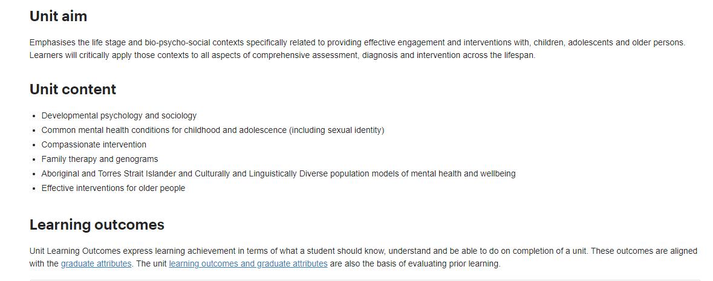pychology assessment sample
