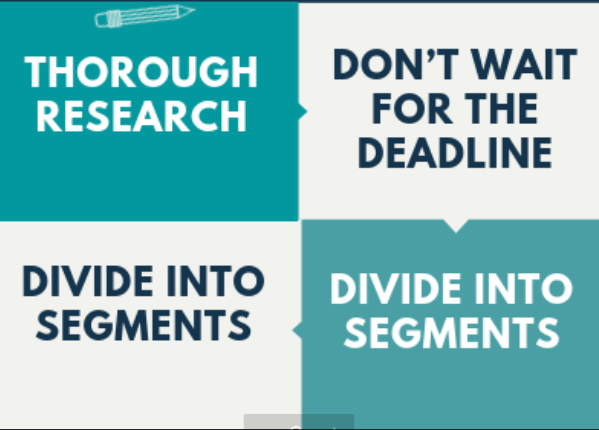assignment writing tips by experts