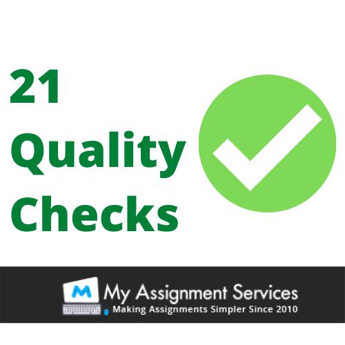 21 steps quality checks