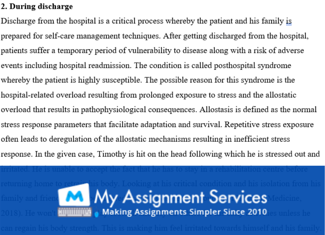 Neurological and Neurosurgical Assignment Answers