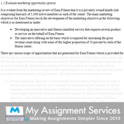 Marketing Metrics Assignment Help in Australia