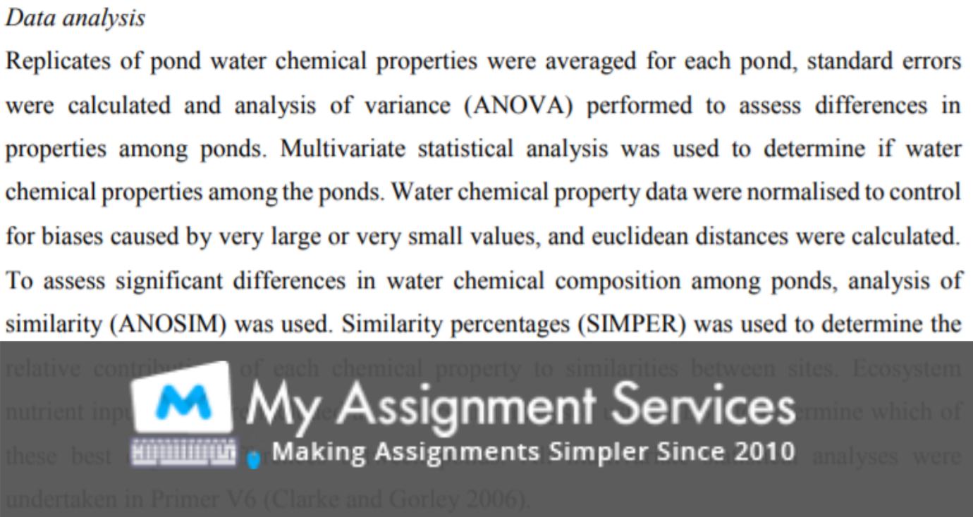 Inorganic Chemistry Assignment Help