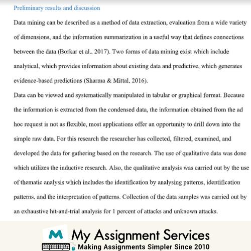 data mining assessment sample 2