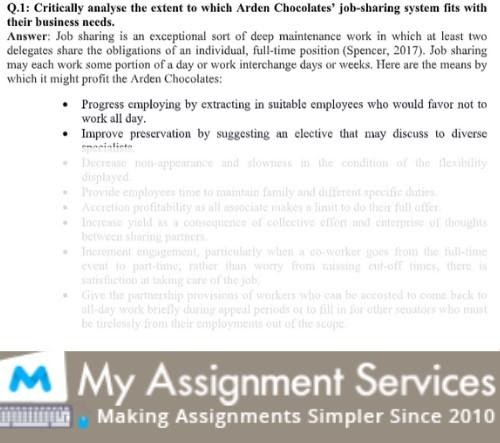 HRM Assignment Services Canada