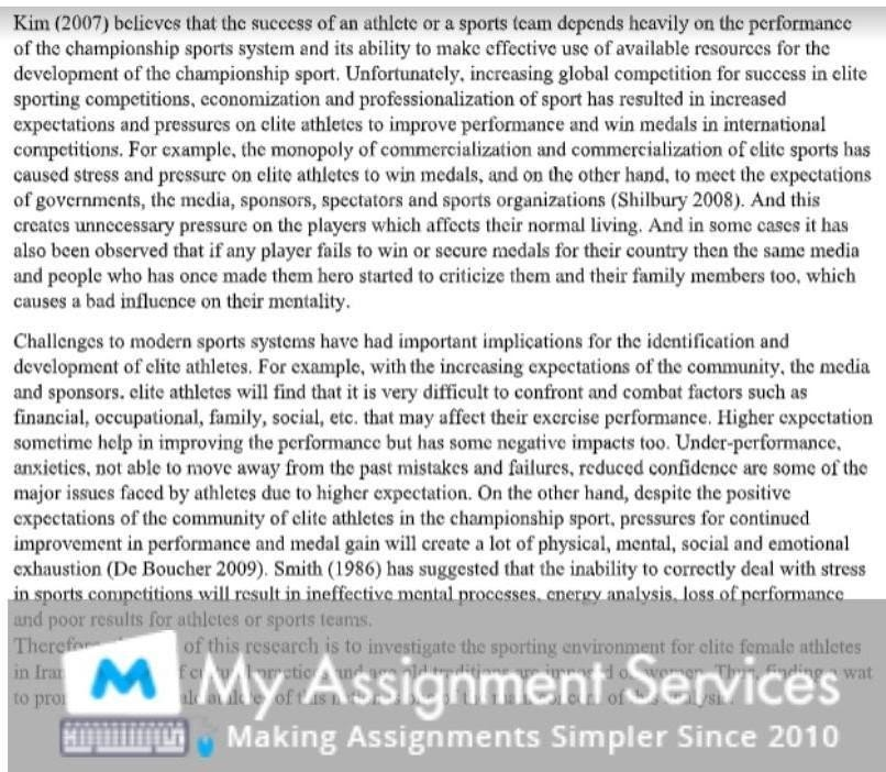 University Assignment Writing Services in Canada