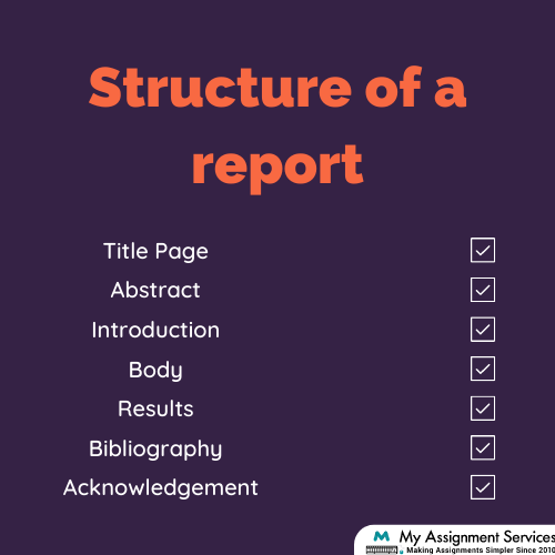 Structure of an Academic Report