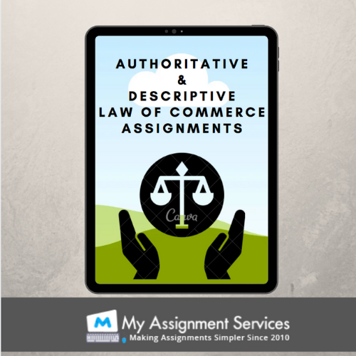 Law of Commerce Assignment Help