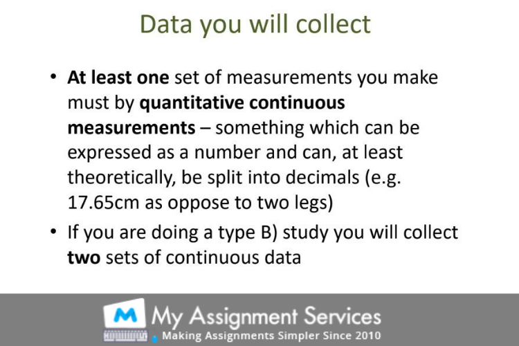 Data Research Assignment Example