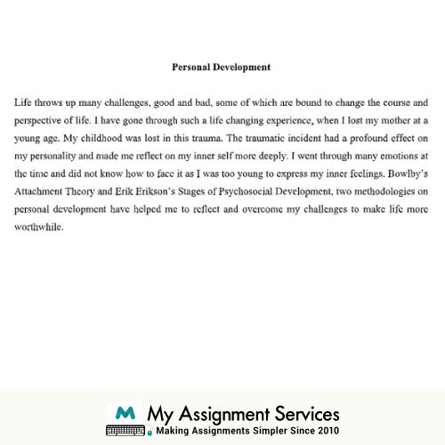 Reflective Essay Example Sample